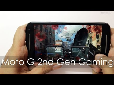 Moto G 2nd Gen Gaming Review with Heavy HD Games