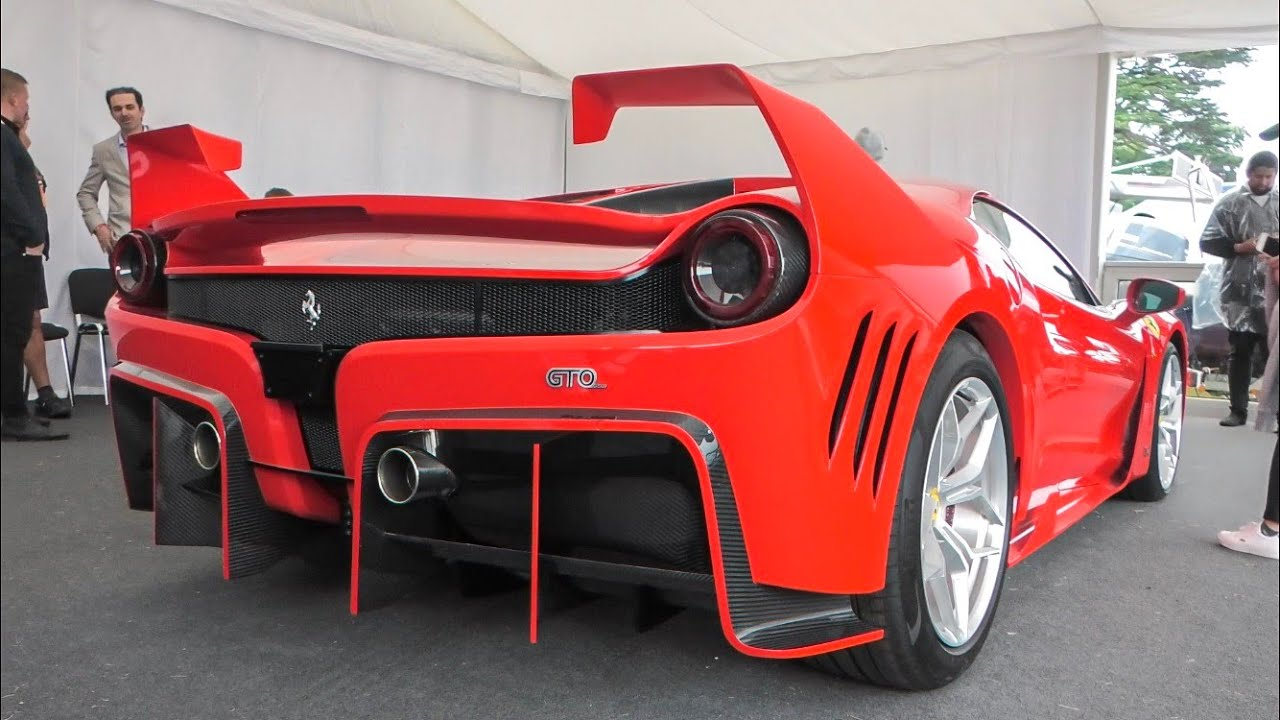 The Ferrari 7X Design GTO Vision FIRST LOOK at Goodwood FOS 2019