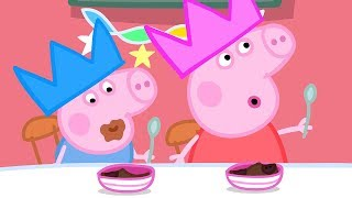 Peppa Pig Episodes - Thanksgiving Celebration! - Cartoons for Children