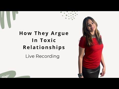 How Narcissists Argue - Live Conversation w Female Narcissist - Trigger Warning