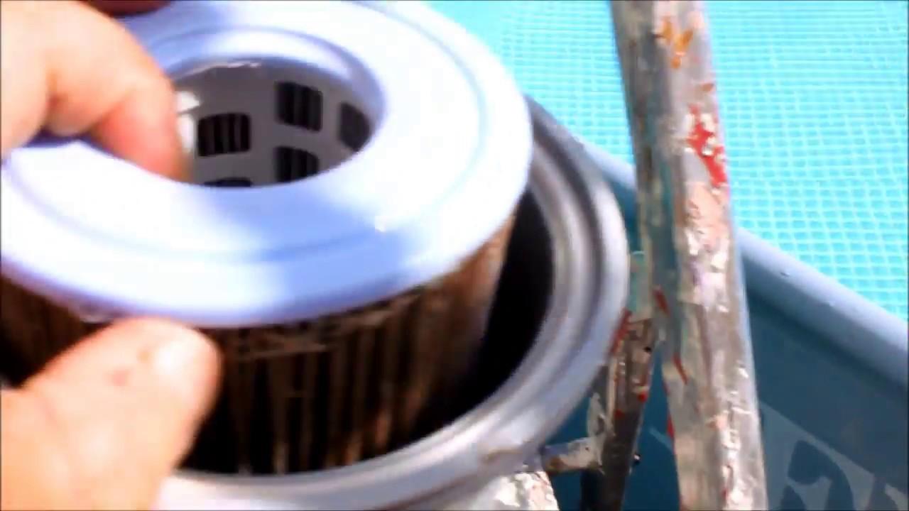 Piscine comment enlever le filtre de la pompe sans vider - Comment recuperer eau trouble piscine ...