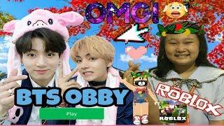 BTS obby | Roblox Tagalog GamePlay - Ang Pogi Ni JungKook (Epic Fail May Natae 💩)