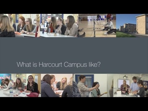 PGCE students on: Harcourt campus