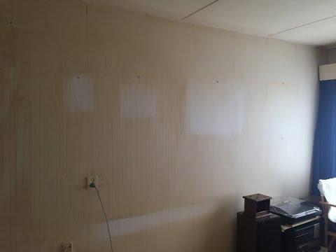 nicotineaanslag verwijderen van plafonds muren