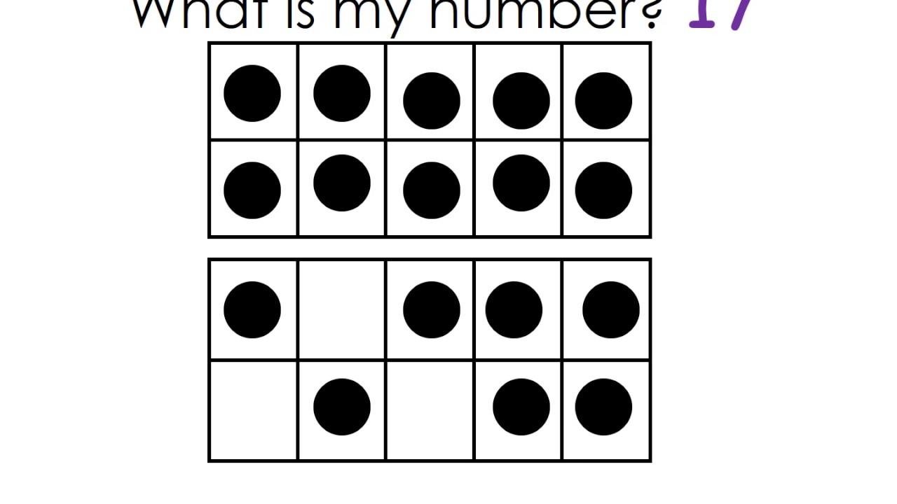 How Many? What is my number? Numbers 11-20 Scattered in a 10 Frame ...