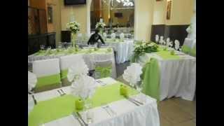 Оформление свадьбы в зеленом яблочном цвете