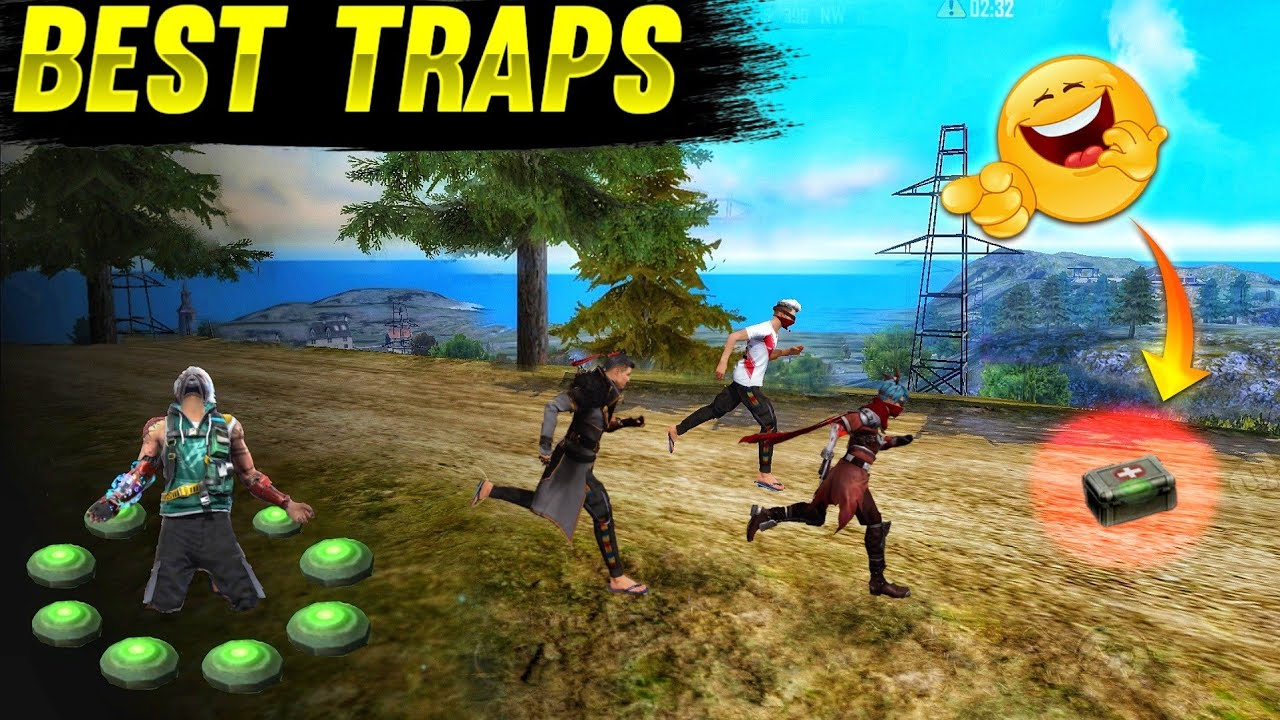 Download Top 5 Best Traps for Enemies in free fire    Best way to Traps for your Enemies in Garena free fire