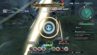 Xenoblade Chronicles X - Nardacyon Multigun/Knife build