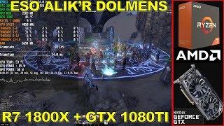 Elder Scrolls Online STRESS TEST - Alik'r Dolmens GTX 1080TI R7 1800X