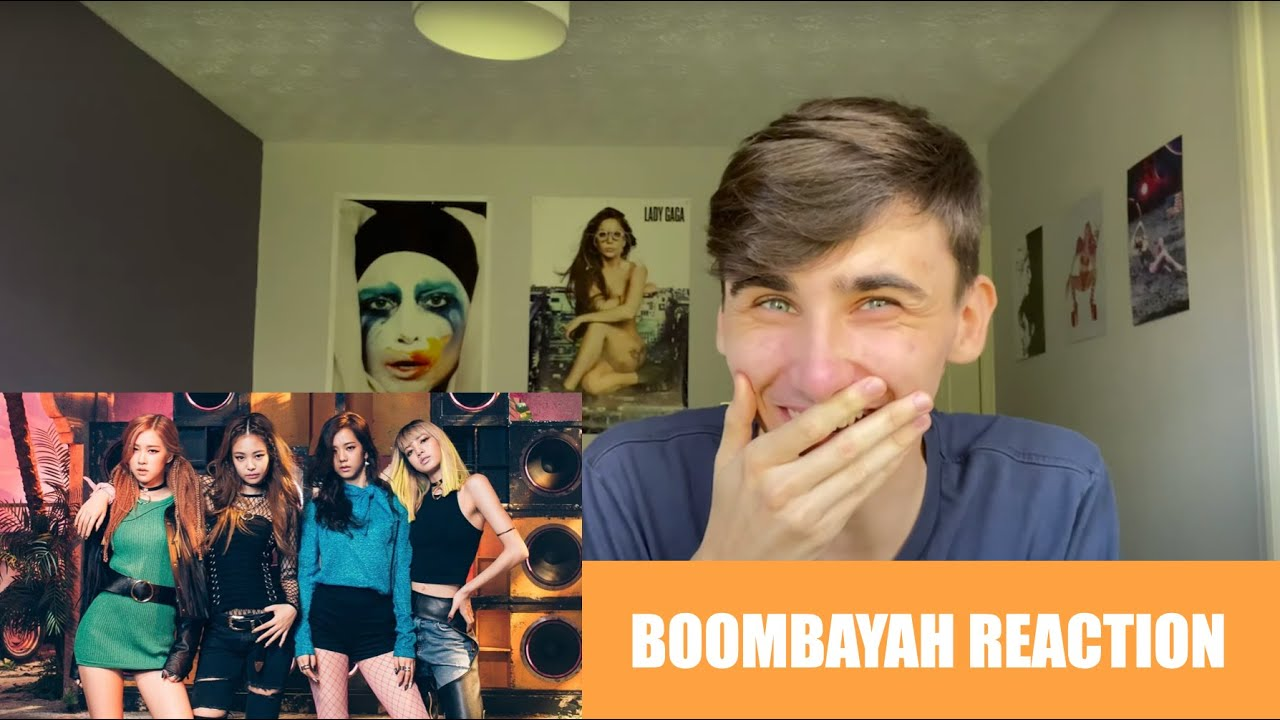 REACTING TO BOOMBAYAH BY BLACKPINK