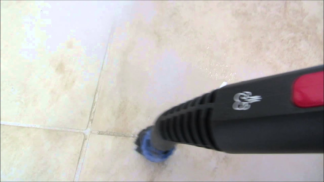 Review Of The Mcculloch Heavy Duty Steam Cleaner Part 2 Cleaning