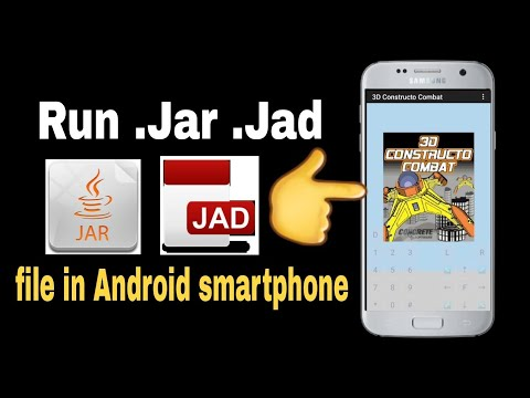Run Java Game And Application(.jar)  In Android Smartphone||Hindi