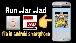 Download Run Java Game and application(.jar)  in Android smartphone||Hindi
