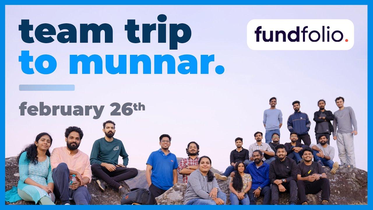 സ്റ്റോക്ക് മാർക്കറ്റ് മാത്രം അല്ല ജീവിതം! fundfolio team trip to Munnar #Throwback