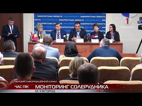 В Ужгороді обговорили проект «Екологічної оцінки можливостей відновлення солерудника у Солотвині»