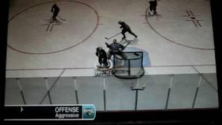 NHL 09 (PC) Goalie Scores A Goal!