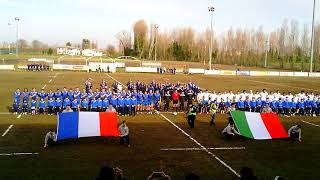 RUGBY INNO ITALIA FRANCIA U18 BADIA POLESINE