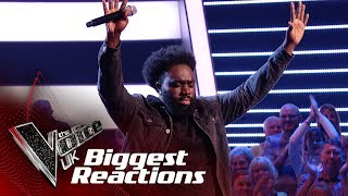 The Biggest Blind Auditions Reactions! | The Voice UK 2019