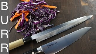 Chef Knife vs Sushi Knife