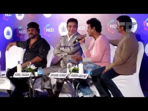 Shivrajkumar shares his first meeting with Ulganayakan Kamal Hassan  at MEBC 2013
