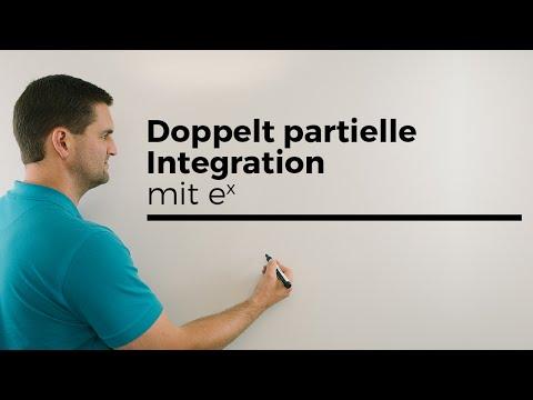 Doppelt partielle Integration mit e^x , easy Beispiel, Stammfunktionen bilden | Mathe by Daniel Jung