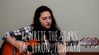 Download Lagu ZAC EFRON, ZENDAYA - Rewrite The Stars (Spanish Version)   Cover Analeska Mp3
