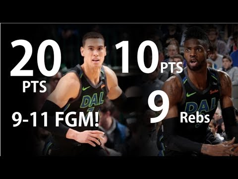 nerlens noel 2018 highlights Dwight Powell 20pts & Nerlens Noel 10pts 9rebs highlights vs  nerlens noel 2018 highlights