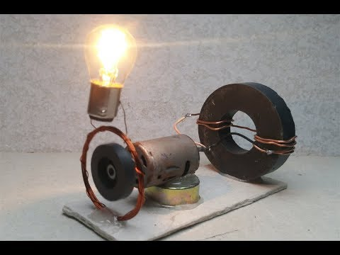 Free energy DC motors & magnets generator , Amazing science project 2018