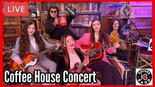 """K3 Sisters Band LIVE  """"Coffee House Concert"""""""