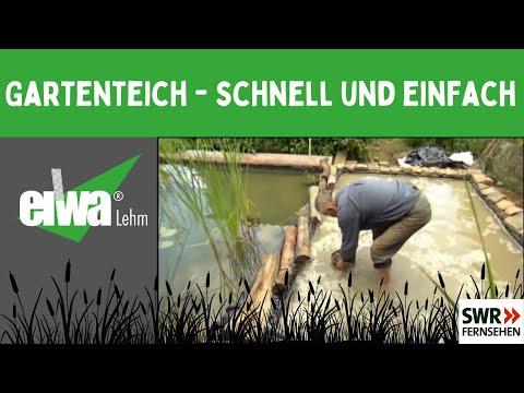 Teichbau - Schnell & Einfach