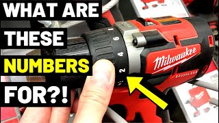 CORDLESS VS. CORDED DRILLS--What Are The Numbers For?! (Clutch Control / Slip Clutch / Torque Drill)