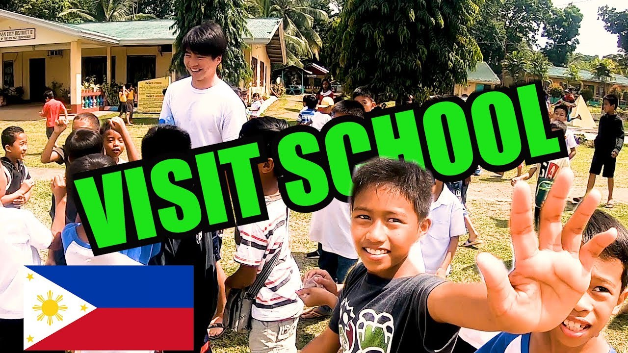[VIDEO] - Japanese visit High school and elementary school, Kidapawan city in the Philippines~vlog~フィリピン学校訪問 1