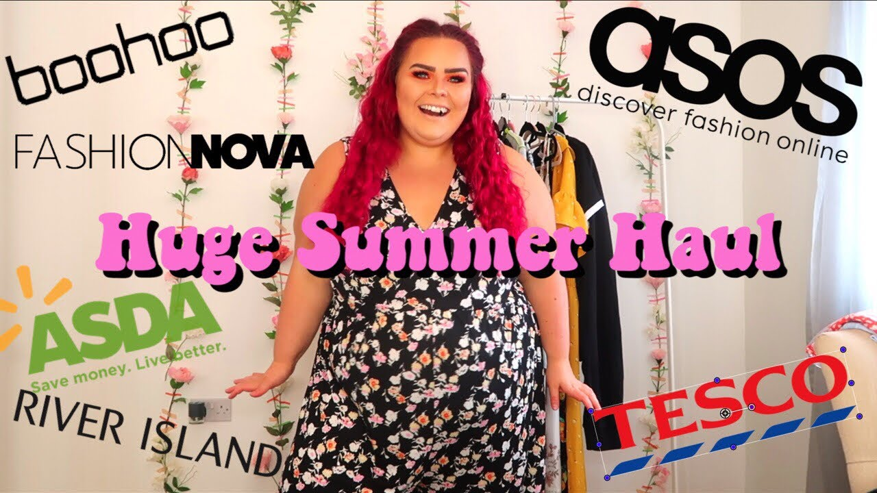 b686c041aa3a8 MY BIGGEST EVER PLUS SIZE HAUL // SUMMER 2019 NEW IN - YouTube