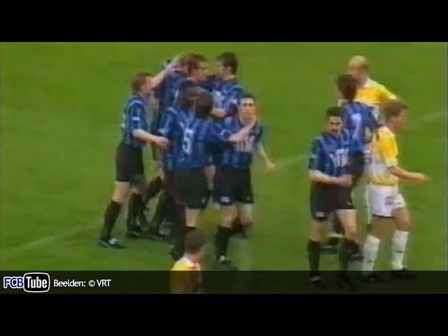1993-1994 - Jupiler Pro League - 33. Racing Genk - Club Brugge 2-4