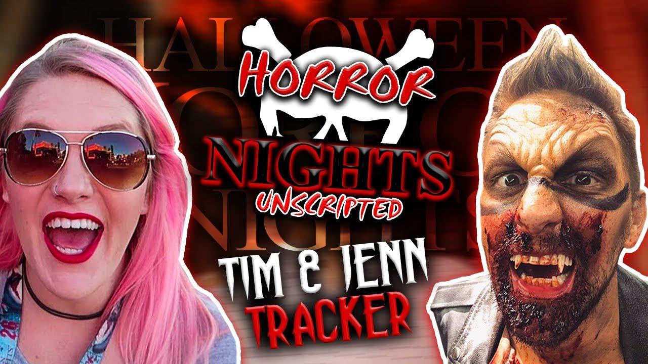 Tim Tracker Halloween Horror Nights 2020 Tim & Jenn from The Tim Tracker Talk HHN 30 Rumors and Becoming a