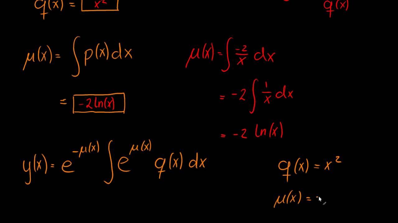 Første ordens differentialligninger