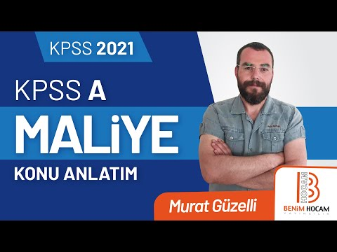 68) Murat GÜZELLİ - Türk Vergi Sistemi / Gelir Vergisi - X - (2019)