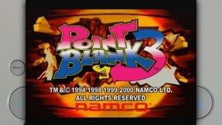 Point Blank 3 on the Sony Playstation