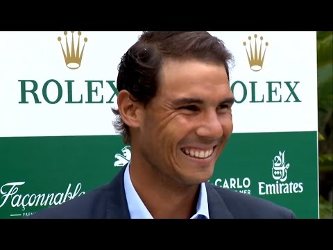 Rafael Nadal at the Draw Ceremony in Monte-Carlo. 14-04-2017