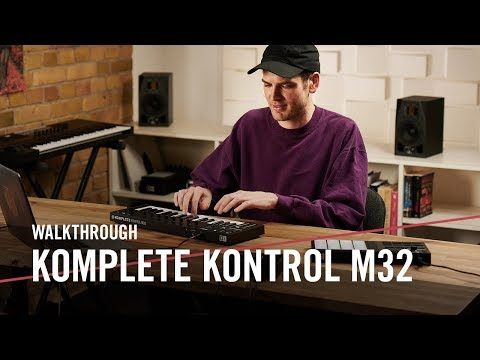 Mad Zach explores the new KOMPLETE KONTROL M32 | Native Instruments Mp3