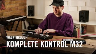 Mad Zach explores the new KOMPLETE KONTROL M32 | Native Instruments