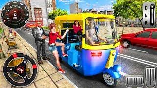 Modern Tuk Tuk Rickshaw Driving - City Mountain Auto Driver - Android GamePlay screenshot 4