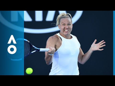 Kaia Kanepi v Monica Puig match highlights (2R) | Australian Open 2018