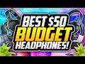 Top 5 Best BUDGET Headphones Under $50! 😱 Best BUDGET Headphones For YOUTUBERS!