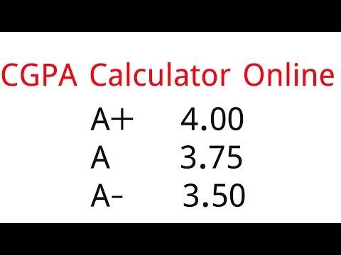 CGPA Calculator - GPA/CGPA Calculation All university - YouTube