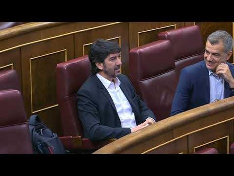 Miriam Nogueras muestra su odio a España en el Congreso: 'Cobardes'