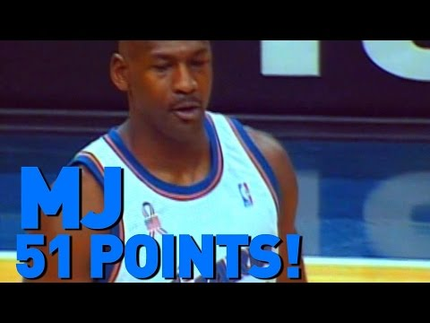 Michael Jordan Scores 51 Points At Age 38 12292001 Youtube