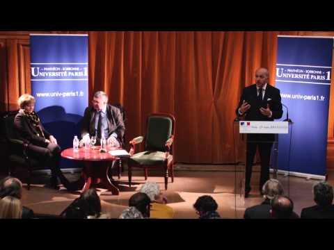 Conférence de Laurent Fabius - Mars 2013
