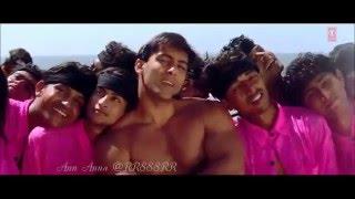 """Salman Khan-Happy birthday-""""JAAN -ayaa""""song-Created by Ann Anna @RR888RR"""