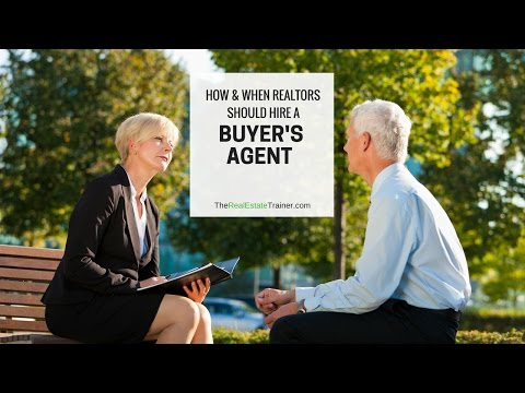 How & When REALTORS Hire a Buyers Agent